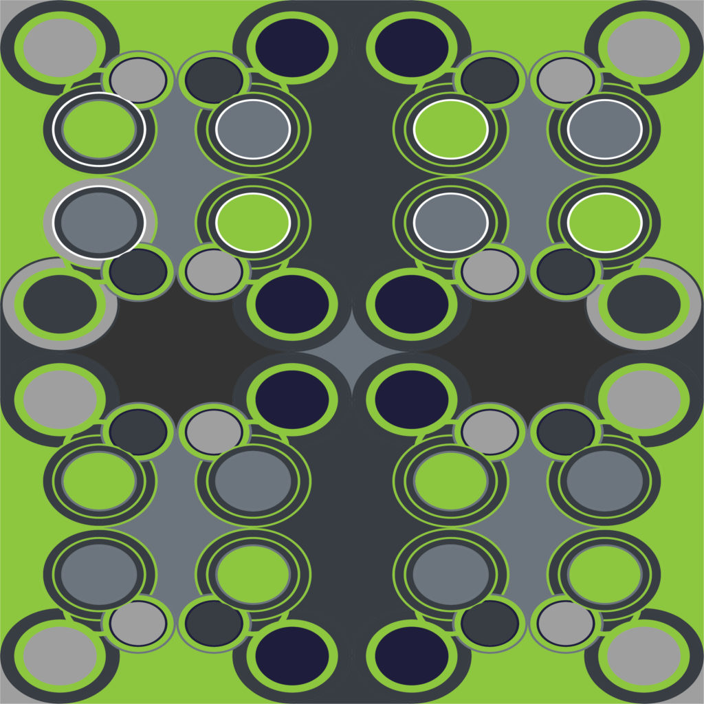 Circles Around - Free Illustrator Pattern - Brand Preview