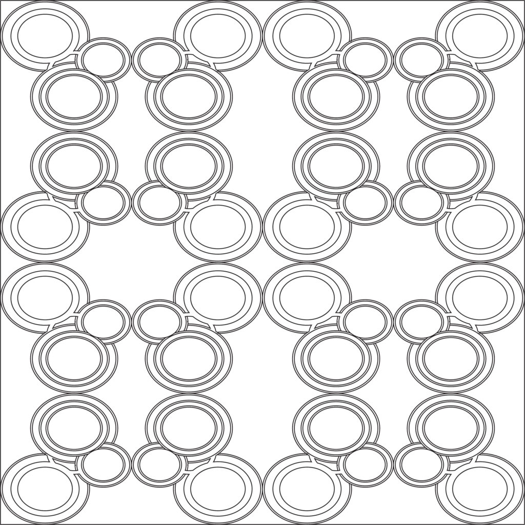 Circles Around - Free Illustrator Pattern Download