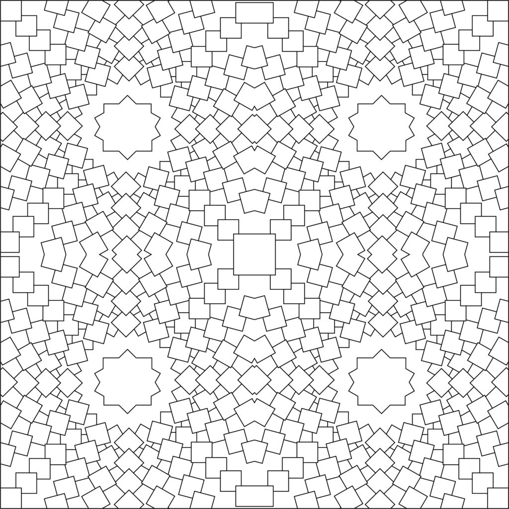 Download Free Graphic Design Element Illustrator Vector Pattern - Circular Pattern from Rectangles